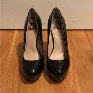 POUR LA VICTOIRE IRINA II BLACK PUMPS size 7.5